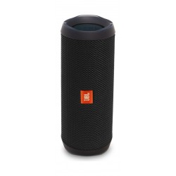 JBL Flip 4 Waterproof BT Speakers (JBLFLIP4BLK) – Black front view