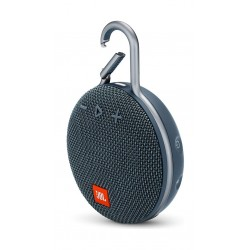 JBL Clip 3 Wireless Portable Bluetooth Speaker - Blue