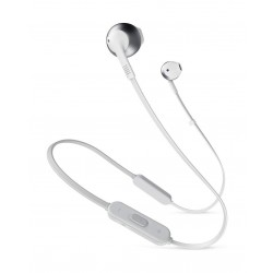 JBL Tune205 Wireless Bluetooth Earphone - Silver