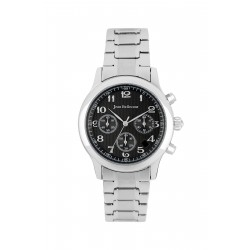 Jean Bellecour 40mm Chronograph Gents Metal Watch (JBP1909) - Silver