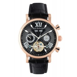 Jean Bellecour Chronograph Gents Leather Watch - (JBS19MW003RG)