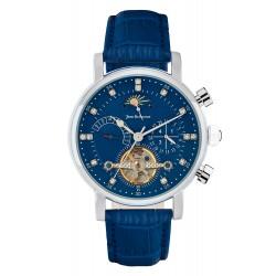 Jean Bellecour Chronograph Gents Leather Watch - (JBS19MW006S)