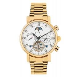 Jean Bellecour Chronograph Gents Metal Watch - (JBS19MW007YG)