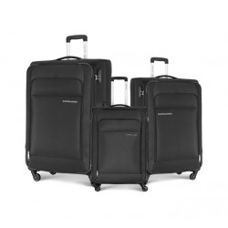 Kamiliant Joyo Set Of 3 Soft Luggage (55+68+78) - Black