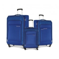 Kamiliant Joyo Set Of 3 Soft Luggage (55+68+78) - Blue