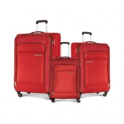Kamiliant Joyo Set Of 3 Soft Luggage (55+68+78) - Red