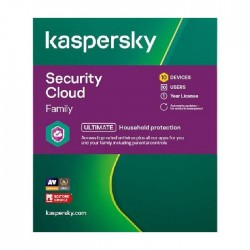 Kaspersky Security Cloud Family 2021 - 10 User