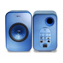 KEF LSX 100W Wireless Bluetooth Music System - Blue