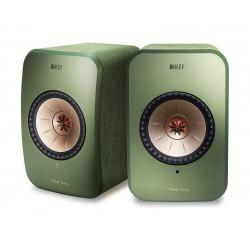 KEF LSX 100W Wireless Bluetooth Music System - Green