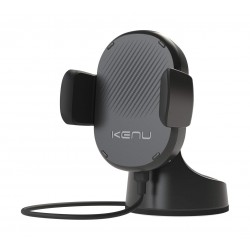 Kenu Airbase Wireless Qi Fast-Charging Dashboard Car Mount - (ABW-KK-NA)