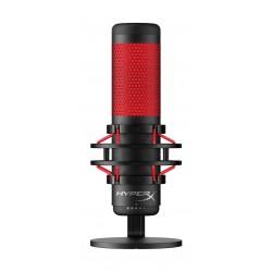 Kingston HyperX QuadCast USB Condenser Gaming Microphone - Black/Red