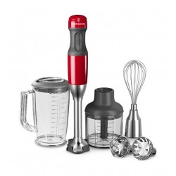 KitchenAid KIT-5KHB2571BER Hand Blender & Chopper Red
