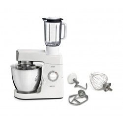 Kenwood 900W 6.7L Classic Major Kitchen Machine (KM636/002) - White With Silver Trim