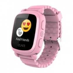 Elari Kidphone 2 Kids Pink Smart Watch in Kuwait | Buy Online – Xcite