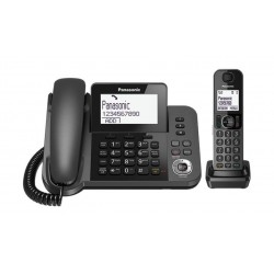 Panasonic Expandable Cordless Phone With Talking Caller ID