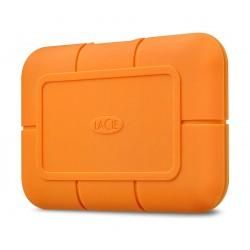 LaCie 2TB Rugged USB 3.1 Type-C External SSD - Orange