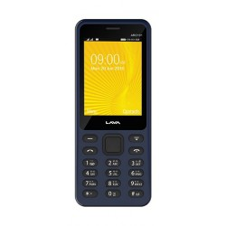 Lava ARC 101 3G Dual SIM Mobile Black - Front View