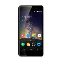 Lava R1S 4G LTE Dual SIM Mobile Grey - Front View