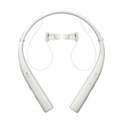 LG Tone Pro Bluetooth Neckband Headset (HBS-780) - White