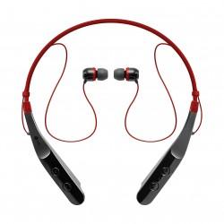 LG Tone Triumph Bluetooth Neckband Headset (Hbs-510) - Red