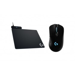 Logitech Powerplay Wireless Charging System + Logitech Lightspeed Wireless Gaming Mouse