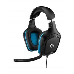 Logitech G432 7.1 Surround Sound Wired Gaming Headset - (981-000770)