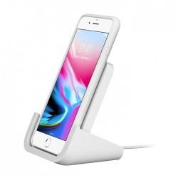 Logitech iPhone Wireless Charging Stand - White