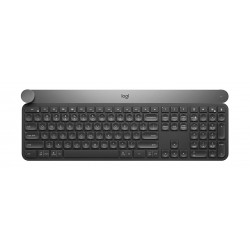 Logitech Craft Wireless Advanced Keyboard with Creative Input Dial - (920-008504)