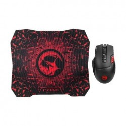 EQ Marvo M355+G1 Gaming Mouse And MousePad