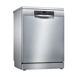 Bosch Series4 6 Programs Free-standing Dishwasher (SMS46NI10M) - Silver Inox