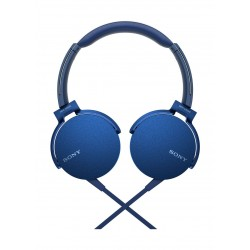 Sony Extra Bass Headphone (MDR-XB550AP) - Blue
