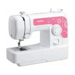 Brother 14 Stitch Sewing Machine (JV1400) – Pink / White