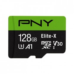 PNY MicroSDXC Elite-X 128GB Memory Card