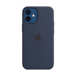 Apple iPhone 12 Mini MagSafe Silicone Case - Deep Navy
