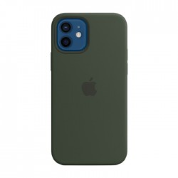 Apple iPhone 12 Pro MagSafe Green Silicone Case in Kuwait | Buy Online – Xcite
