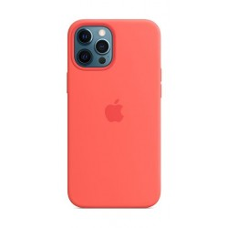Apple iPhone 12 Pro Max MagSafe Silicone Case -  Pink