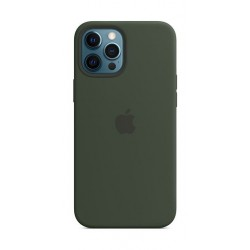 Apple iPhone 12 Pro Max MagSafe Silicone Case -  Cyprus Green