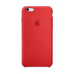 Apple iPhone 6s Plus Silicone Case - (MKXM2ZM/A) Red