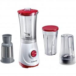 Bosch MMBM1P6RGB Liquidiser & Blender 350W - White/Red