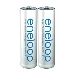 Panasonic Standard Rechargeable Eneloop AA Batteries (BK-3MCCE/2BT)
