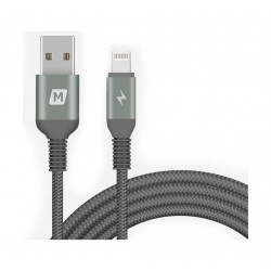 Momax Elite Link Triple-Braided Nylon Lightning Cable 2M