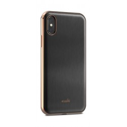 Moshi IGlaze iPhone X Back Case (99MO101001) - Black
