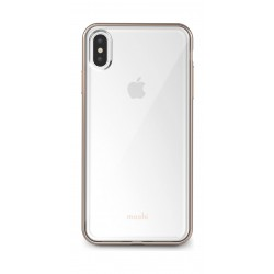 Moshi Vitros Clear Case for Apple iPhine XS MAX - Champagne Gold 2