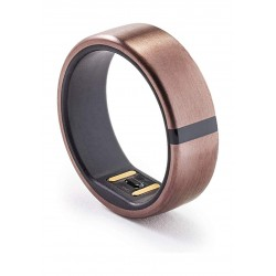 Motiv Waterproof Fitness Smart Ring Tracker (Size 8) - Rosegold
