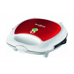 Moulinex 700W 3 In 1 Sandwich Maker (SW6125) – White / Red