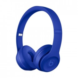 Beats Solo 3 Blue Wireless Headphones in Kuwait | Buy Online – Xcite