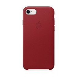 Apple Leather Case For iPhone 7/8 (MQHA2ZM/A) - Red