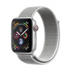 Apple Watch GPS + Cellular, 44mm Aluminum Case With Seashell Sport Loop