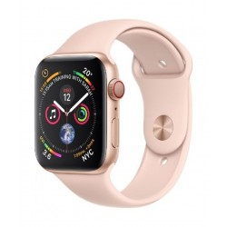 Apple Watch Series 4 GPS + Cellular, 44mm Aluminum Pink Sand Sport Band