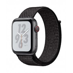 Apple Watch Series 4 Nike+  GPS + Cellular 40mm Space Gray Aluminum Case With Black Strap (MTXH2AE/A)